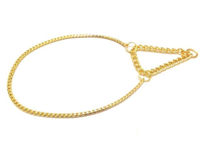 Half choke snake gold