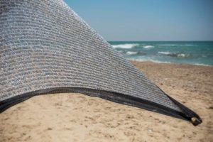 Aluminet päikesekaitse 2x2m